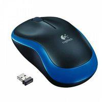 Mouse Logitech Cordless M185 Blue