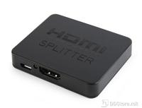 HDMI Interface Spliter 2 Ports w/Signal Amplifier Cablexpert DSP-2PH4-03