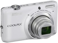 Dig. Camera Nikon Coolpix S6500 White SET 4GB SD/ Bag