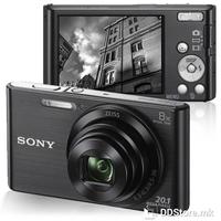 "Dig. Camera Sony DSC-W830B Cybershot 20.1MP 2.7"""