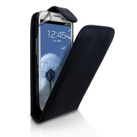 Flip Cover i9500 (Galaxy S4) Leather Black