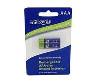 Batteries 900mAH Rech.Instant NI-MH AAA 2pcs EnerGenie