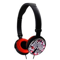 Headphones A4 GHCR-109R G-Play Foldable Red