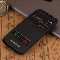 Flip Case w/Window for Lenovo A850 Black