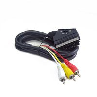 Cable 3xRCA to SCART Bidirectional 1.8m