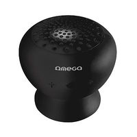 Speaker 1.0 Omega Bluetooth Rechargeable Splash Resistant Black