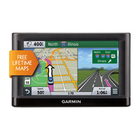 "GPS Navigator Garmin Nuvi 66LM Lifetime Map Europe/ 6"" LCD"