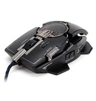 Mouse Zalman ZM-GM4 Gaming Laser USB Black/Silver