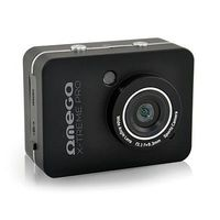 "Action Camera Omega VR235 Full HD 2.4"" LCD Touchscreen w/ Waterproof case/Remote/Mic"