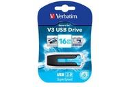 USB Drive 32GB Verbatim V3 Caribbean Blue USB 3.0