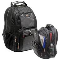 "Notebook Backpack Wenger SwissGear Pillar 16"" Black"