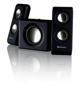 Speakers 2.1 Verbatim Multimedia Potable Black