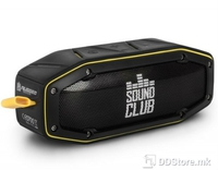 Speakers 2.0 GOCLEVER Sound Club Rugged Mini Bluetooth Black/Yellow IPX4 Water,dust,shock resistant
