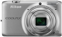 Dig. Camera Nikon Coolpix S6500 Silver SET 4GB SD/ Bag
