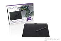 Pen Tablet Wacom Intuos 3D Black Pen & Touch M CTH690CK