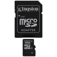 Secure Digital Micro Kingston 32GB SDHC cl4 w/Adapter