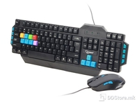 Keyboard KBS-UMG-01 Gaming USB w/Mouse