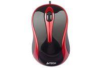 Mouse A4 N-350-2 V-Track USB Black/Red