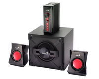 Speakers 2.1 Genius SW-G2.1 1250 Black