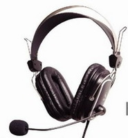 Headphones w/Mic A4 HS-50 iChat Headset w/Vol.c