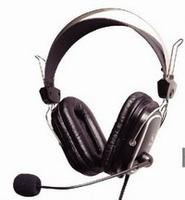 Headphones w/Mic A4 HS-50 iChat Headset w/Vol.c