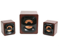 Speakers 2.1 Omega Wooden Cabinet 15W
