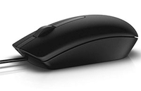 Mouse Dell MS116 Optical Black USB