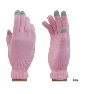 Gloves for Smartphones & Tablets Pink
