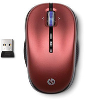 HP 2.4G Red Wireless Mouse