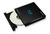 Samsung External Blu-Ray Writer, Model: SE-506AB/TSBD, Speed: 6x, Connection: USB, Retail Kit, Color: Black, Software: CyberLink