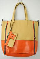 Чанта од пастелна комбинација на бои