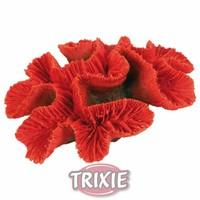 Корал керамика за аквариум црвен 16 cm