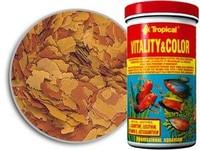 Храна за риби Topical Vitaliti&Color 150 мл