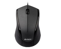 A4TECH MOUSE N-400-1 V-TRACK PADLESS MOUSE USB GLOSSY GREY