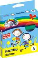 Пластелин Гранд Fiorello 6 бои