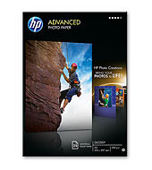 Фото Хартија HEWLETT-PACKARD, Advanced, Glossy, Големина 10x15 цм, 250 g/m2.