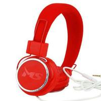MS BEAT црвени слушалки со микрофон, Frekvencijski raspon 20Hz-20KHz, Osetljivost 108 dB, Осетливост