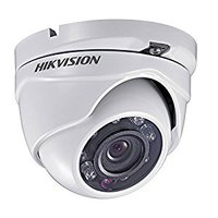 Hikvision DS-2CE55C2P-IRM 720 TVL Mini Dome CCTV Camera - White
