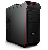 Кутија Rage Gaming Case, W/out PS, 3x USB 2.0 + eSATA + Audio + Mic, 1 x 12cm Orange Led Fan, Kensin