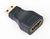 HDMI female to mini-C male adapter