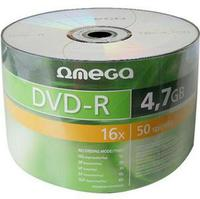 DVD-R 4.7GB 16X Omega Freestyle 50pcs Wrap