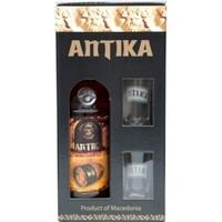 Antika + 2 glass