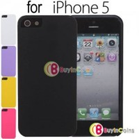 New Ultra Thin Back Hard Case Cover Skin for Apple iPhone 5 5th Gen Five