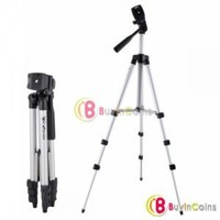 Universal Flexible WT-3110A Portable Camera Tripod for Sony Canon Nikon + BAG