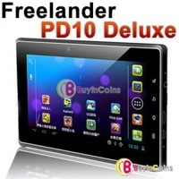 "7"" Freelander PD10 Deluxe Android 4.0 Cortex A5 1.2GHz Tablet PC 8GB WIFI GPS 1"