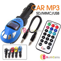 Car Kit MP3 Modulator Player FM Transmitter SD/MMC/USB
