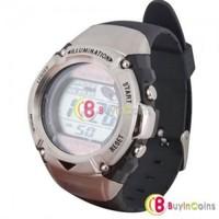 Sport Solar Dual Power Energy Water Resistance Digital Wrist Watch #3 New