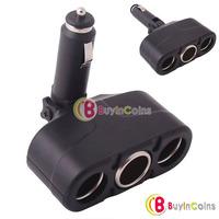 3 Way 12V Car Cigarette Socket Adapter Splitter Charger