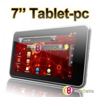 "7"" Android 4.0 Cortex A9 1GHz Tablet PC 4GB 512MB RAM DDR3 Dual Camera GPS Phone 1"
