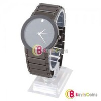 Stylish Stainless Automatic Mechanical Analogue Mens Steel Wrist Watch Best Gift 1